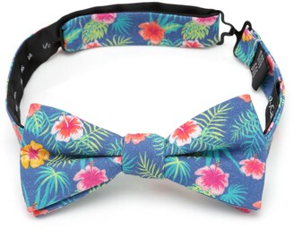 Cufflinks Inc. Tropical Cotton Bow Tie