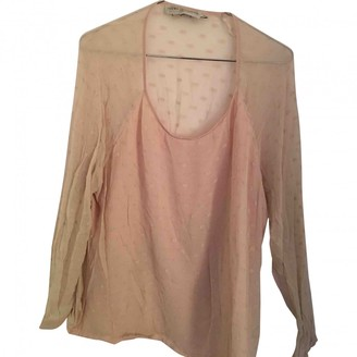 Koshka Mashka Pink Silk Top for Women