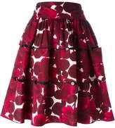 Marc Jacobs floral print skirt