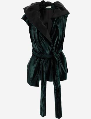 Dries Van Noten Women's Vest Coat w/Belt