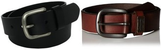 Levi's Men's Leather Bridle Belt (2 Pack)