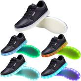 OUYAJI 11 color flashing USB LED light up Charging Shoes walking Sneakers for adult&kids 43