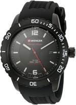 Wenger Men's 01.0851.124 Roadster Analog Display Swiss Quartz Watch