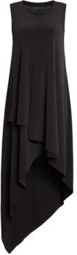 BCBGMAXAZRIA High-Low Knit Tank Dress