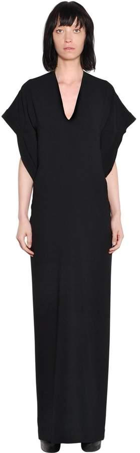 Gareth Pugh Cady Dress W/ Draped Back