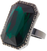 Cara Accessories Statement Radiant Crystal Ring