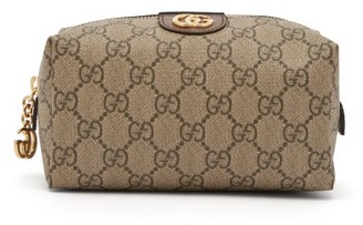 Gucci Ophidia Gg Supreme Canvas Make-up Bag - Womens - Grey Multi