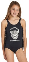 Billabong Girl's Wild Roar One-Piece Swimsuit