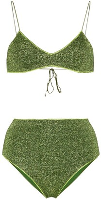 Oseree Lumiere lurex bikini