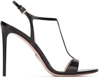 Prada Strap Stiletto Sandals