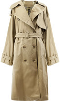 Juun.J button up trench coat
