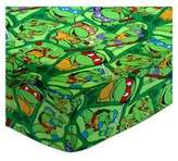 Camilla And Marc SheetWorld Round Crib Sheets - Ninja Turtles - Made In USA - 106.7 cm (42 inches)