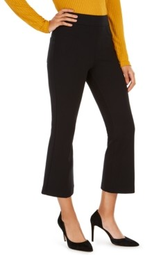 Spanx The Perfect Black Pant Cropped Flare Pants