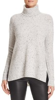 C by Bloomingdale's Waffle Knit Turtleneck Cashmere Sweater