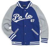 Ralph Lauren Little Boy's & Boy's Varsity Cotton Jacket
