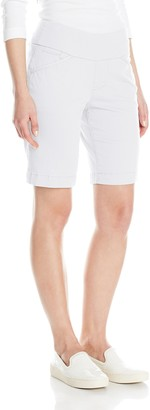 Jag Jeans Women's Petite Ainsley Pull on Bermuda Short