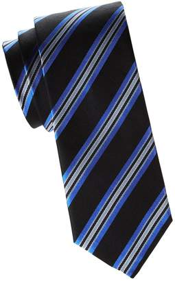 Saks Fifth Avenue Made In Italy Silk Striped Tie