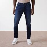 Mens Dark Blue Dylan slim fit jeans