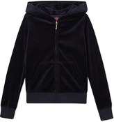 Juicy Couture Scottie velour zipped hoody 4-14 years