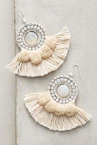 Anthropologie Textural Drop Earrings
