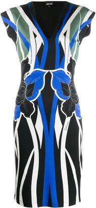 Just Cavalli Printed Day Dress