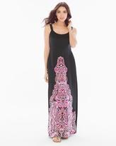 Soma Intimates Macrame Maxi Dress Excursion Black RG