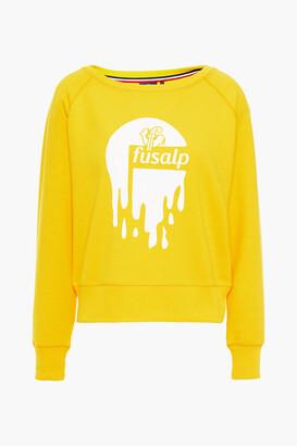 Fusalp Flocked Printed Jersey Sweatshirt