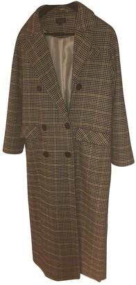 Topshop Tophop Beige Cotton Coat for Women