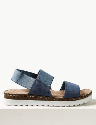 M&S CollectionMarks and Spencer Suede Elastic Sandals