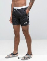 HUGO BOSS BOSS By Star Fish Swim Short Exclusive Black