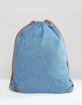 Mi-Pac Denim Stonewash Kit Bag