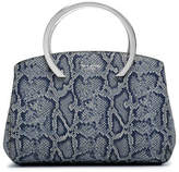 Henri Bendel Premium Snake Embossed Dinner Satchel
