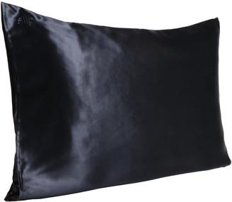 Slip Silk Pillowcase - Queen (Various Colours) - Black