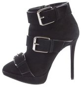 Giuseppe Zanotti Pointed Suede Booties