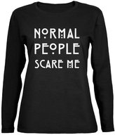 Old Glory Normal People Scare Me Womens Long Sleeve T-Shirt