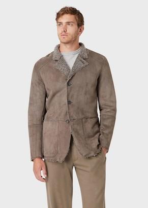 Giorgio Armani Lamb Shearling Jacket