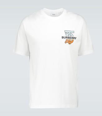 Burberry Ganther cotton T-shirt