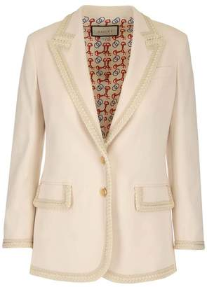 Gucci Single Breasted Jacket