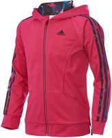 adidas Hooded Activewear Jacket, Little Girls (4-6X)