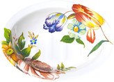 Mackenzie Childs Flower Market Enamel Soap Dish