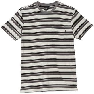 O'Neill Smasher Crew Neck Short Sleeve Stripe T-Shirt