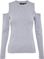 Oxford Paulina Cold Shoulder Knit Gry X
