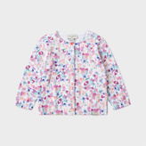 Paul Smith Baby Girls' Floral 'Madelyn' Knitted Cardigan