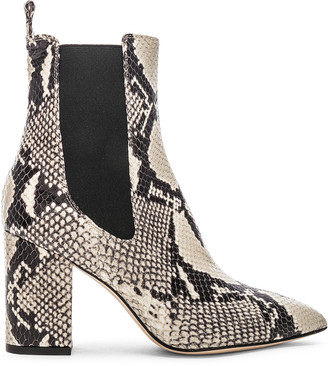 Paris Texas Ankle Boot in Natural Snake | FWRD