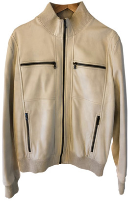 Prada White Leather Jackets
