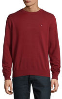 Tommy Hilfiger Solid Crew Neck Sweater
