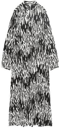 Arket Long Silky Dress