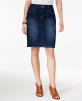 Style&Co. Style & Co Petite Denim Skirt, Only at Macy's
