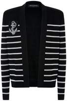 Balmain Striped Spencer Jacket