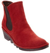 Fly London Phil Suede Wedge Bootie.